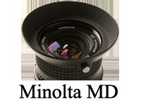 Minolta MD minni