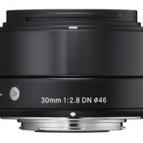 Sigma 30mm f 2,8 EX DN fyrir sony E