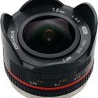 Samyang 7,5 mm f 3,5 fish eye f. MFT
