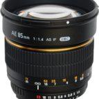 Samyang 85mm f 1,4 f Canon