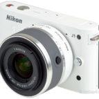 Nikon 1, J1 m/10-30mm  hvít.