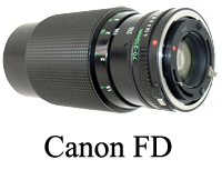 Cannon fd minni
