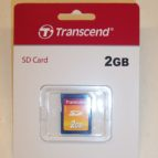 Transcend 2 GB minniskort SD