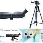 Focus spotting scope 20-60×60