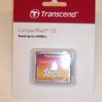 Transcend 16 GB CF kort
