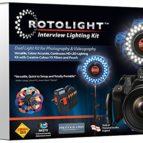 Rotolight Interview Lighting kit.