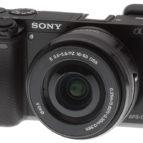 Sony A 6000 með 16-50mm linsu