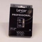 Lexar Professional 64 GB SDXC minniskort