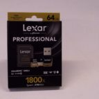 Lexar Professional 64GB micro SD minniskort