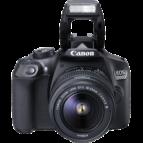 Canon EOS 1300D m/18-55mm, tösku og minniskorti