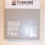 Polaroid 600  svart hvít filma