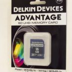 Delkin 16 GB SD minniskort