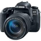 Canon EOS 77D m/18-135mm